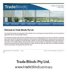 Trade Blinds Pty Ltd.